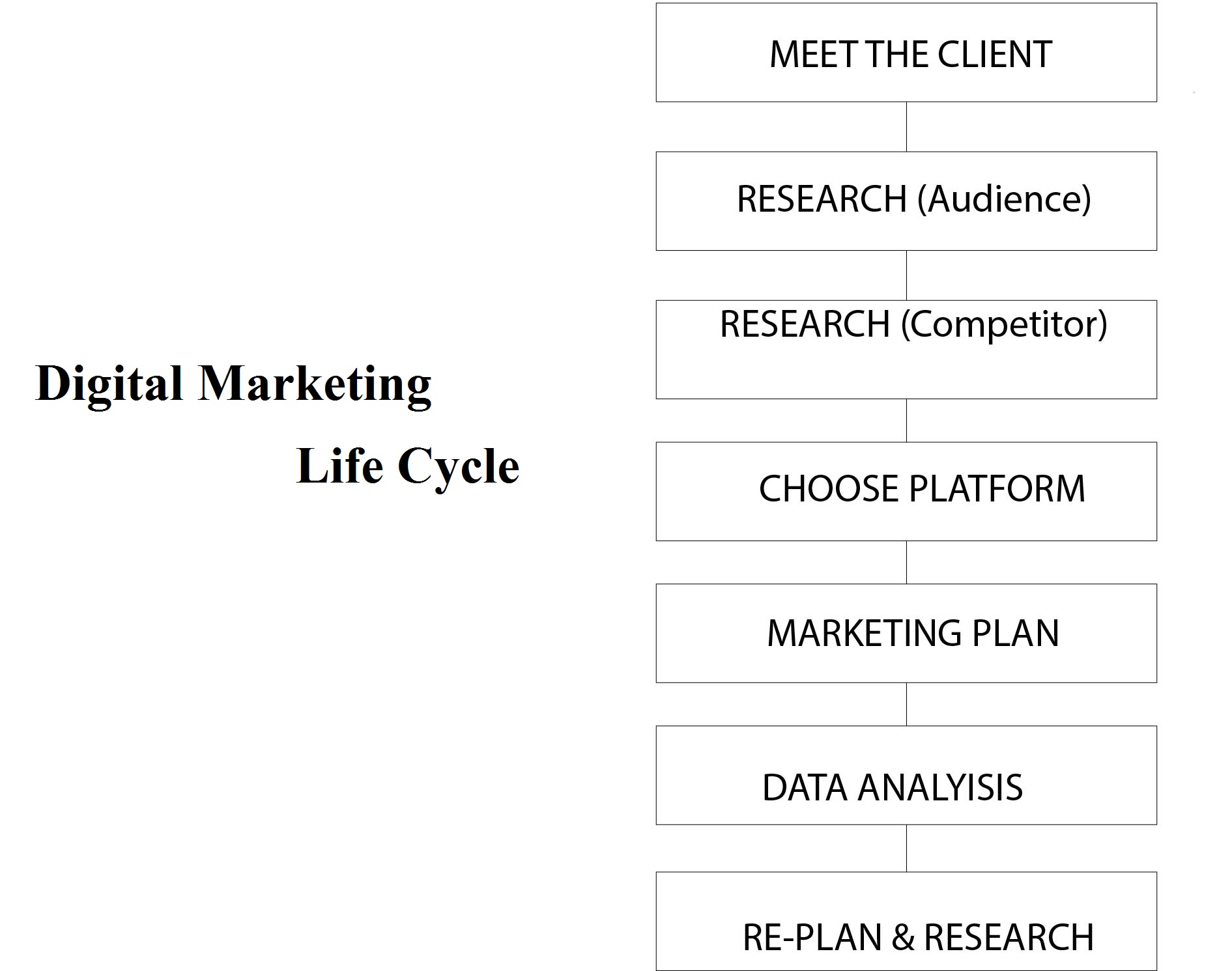 Digital Marketing Life cycle